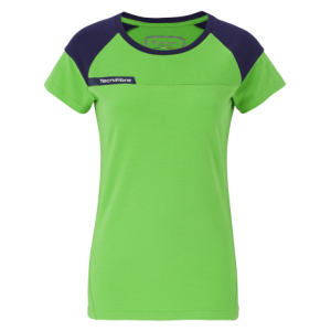 Tricou Tecnifibre LADY F1 STRETCH GREEN